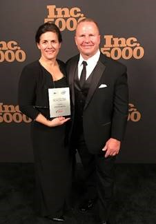 Diane and W. Michael Jarrett Receiving Inc 5000 Award