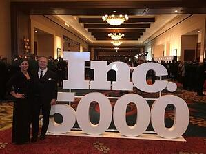Mike and Diane at Inc 5000 Awards