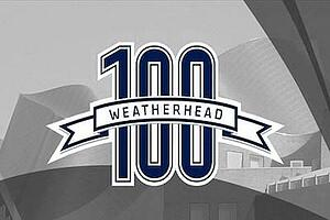 weatherhead 100 badge