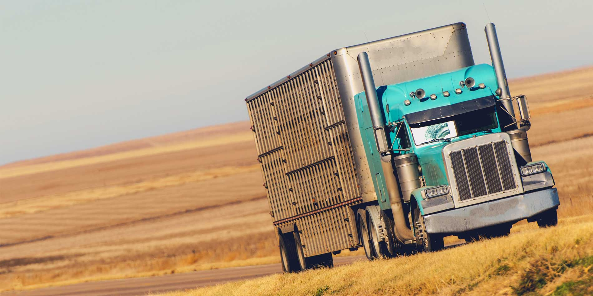 semi-truck-on-prairie