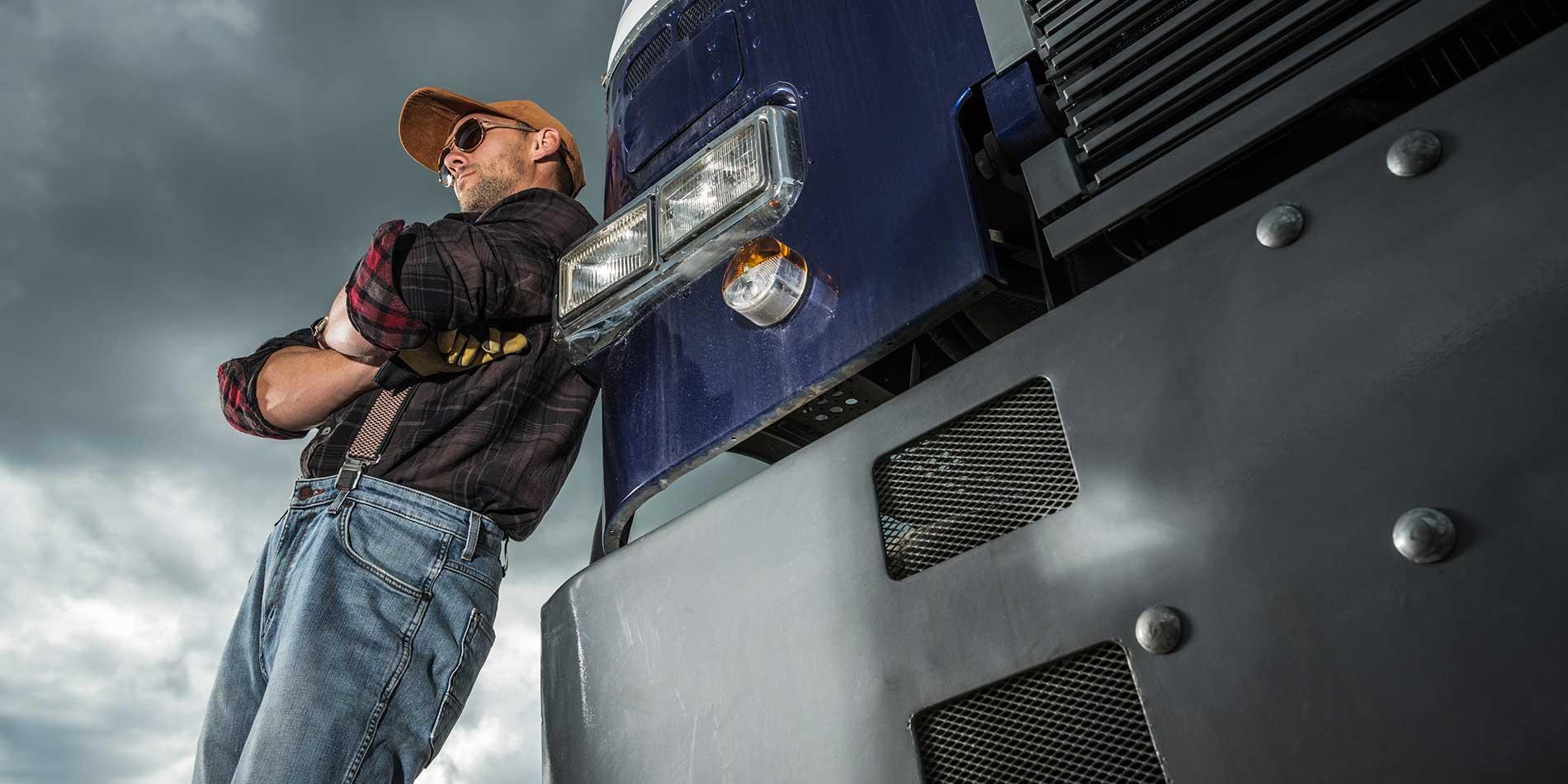 vintage-semi-truck-badweather