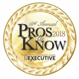 Pros to Know 2018 Award Winners