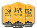 Plain Dealer Top Workplaces to Work Logo