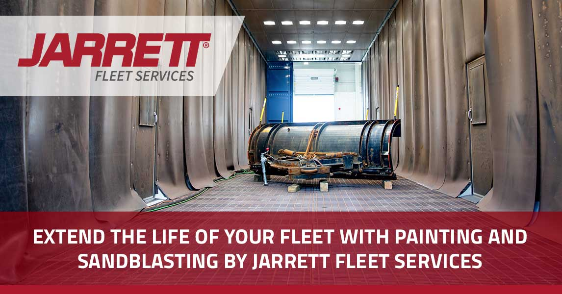 Extend the Life of Your Fleet With Painting and Sandblasting by Jarrett Fleet Services